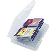 Integral - Pouzdro na paměťovou kartu - 4x SD/MicroSD - INSD4CARDCASE
