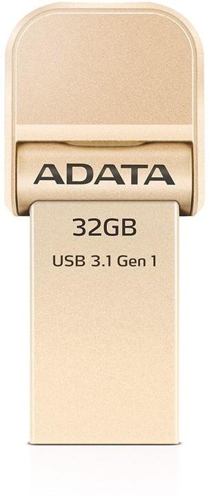 ADATA AI920 32GB, zlatá