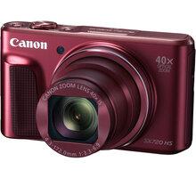 Canon PowerShot SX720 HS, červená - 1071C002 + Paměťová karta SDHC 16GB Kingston (class 10) v ceně 189 Kč