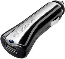 CellularLine autonabíječka s USB výstupem, černá - CBRUSBCCBK