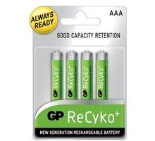 GP Recyko+ AAA Ni-MH 800mAh, 4ks - 1033114063