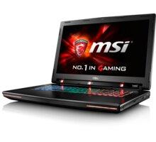 MSI GT72S 6QE-1000CZ Dominator Pro G 4K Tobii, černá + MSI Back to School Pack GT72S/GT80S v ceně 3000