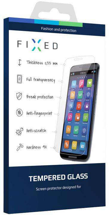 FIXED ochranné tvrzené sklo pro Sony Xperia Z3+/Z4, 0.33 mm