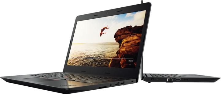 Lenovo ThinkPad E470, černá