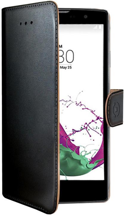 CELLY Wally Pouzdro typu kniha pro LG G4C, PU kůže, černé