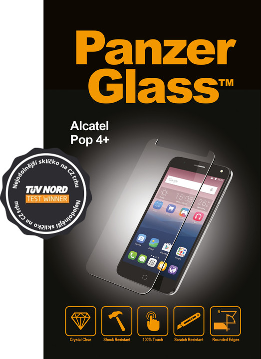 PanzerGlass Original, ochranné sklo pro Alcatel POP 4 plus