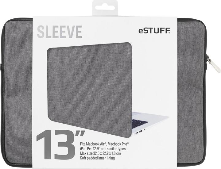 eSTUFF Macbook Air, iPad Pro 13'' Sleeve - Fits Macbook Pro, twill