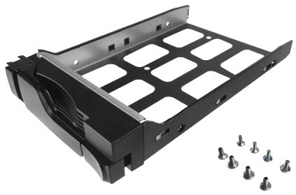 ASUSTOR AS-Tray, Black HD tray pro 2.5 & 3.5-inch HDD