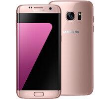 Samsung Galaxy S7 Edge - 32GB, růžová - SM-G935FEDAETL + Zdarma Oral B Genius PRO 8000 chytrý zubní kartáček (v ceně 4699,-)