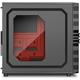 Sharkoon VG4-W, černo-červená