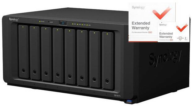 Synology DS1817+ (8GB) DiskStation + rozšířená záruka 5 let