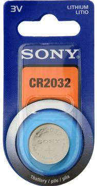 Sony Lithiová knoflíková baterie 3.0V / 220 mAh / průměr x výška 20 x 3.2 mm / 1 ks