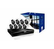 KGUARD HD1681-2WA713APK4 set, 16+8 (CCTV+IP) kanálový rekordér + 8x1M barevná venkovní kamera - HD1681-2WA713APK4/hd1681-8wa71