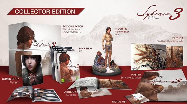 Syberia 3: Collector's Edition (PC)