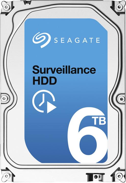 Seagate Surveillance - 6TB + Rescue