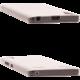 EPICO pružný plastový kryt pro Lenovo A6000 RONNY GLOSS - čirá bílá