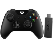 Microsoft Xbox ONE Gamepad, bezdrátový (PC, Xbox ONE) - NG6-00003