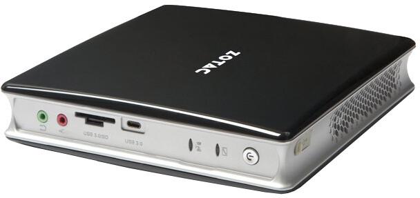 Zotac ZBOX BI322, černo-bílá
