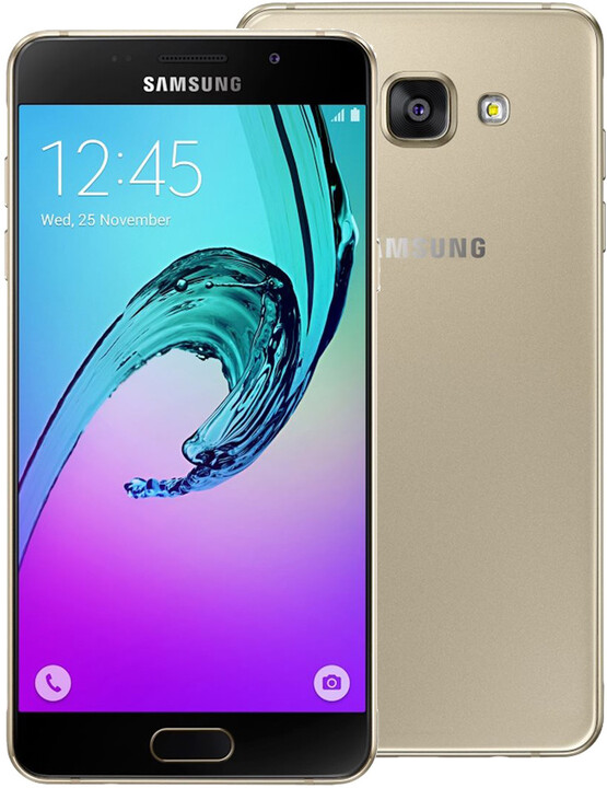 Samsung Galaxy A5 (2016) LTE, zlatá