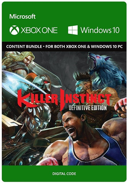 Killer Instinct: Definitive Edition (Xbox Play Anywhere) - elektronicky