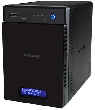 NETGEAR ReadyNAS 104 (2x1TB HDD)