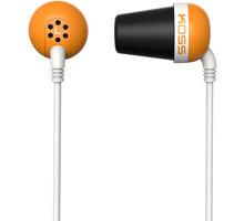 KOSS The Plug, oranžová - The Plug O (24 měsíců)