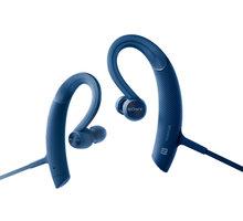 Sony MDR-XB80BS, modrá - MDRXB80BSL.CE7 + Sportovní pouzdro pro telefon v ceně 150 kč