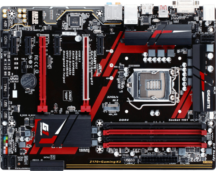 GIGABYTE Z170-Gaming K3 - Intel Z170