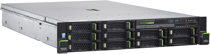 Fujitsu Primergy RX2540M1 /E5-2620v3/16GB ECC/Bez HDD/Bez GPU/450W - rack