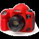 Easy Cover silikonový obal Reflex Silic pro Canon 5D Mark IV, červená