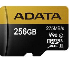 ADATA Micro SDXC Premier One 256GB UHS-II U3 - AUSDX256GUII3CL10-C