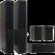 Jamo S 628 HCS, sestava, černá