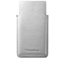 BlackBerry pouzdro kožené pro BlackBerry Leap, bílá - ACC-60115-002