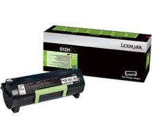 Lexmark 51F2H00, černá, return
