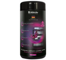 Defender PRO navlhčené čistící utěrky na plasty - 30850