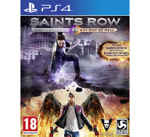 Saints Row IV: Re-Elected + Gat Out of Hell First Edition - PS4 - 4020628862206