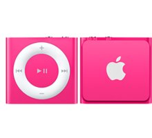 Apple iPod shuffle - 2GB, růžová, 4th gen. - MKM72HC/A