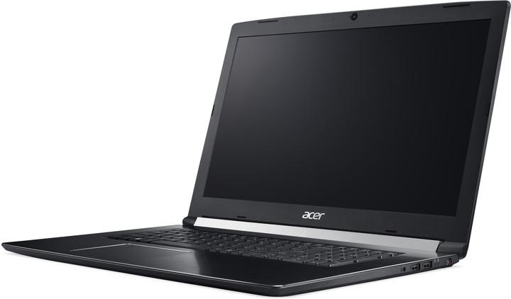 Acer Aspire 7 (A717-71G-75E0), černá