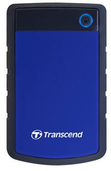 Transcend StoreJet 25H3 - 2TB, modrá