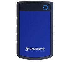 Transcend StoreJet 25H3 - 2TB, modrá - TS2TSJ25H3B