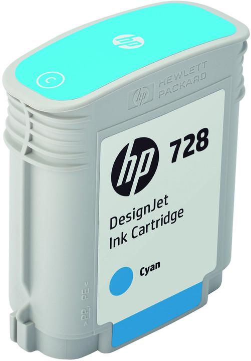 HP F9J63A no. 728 (40ml), cyan