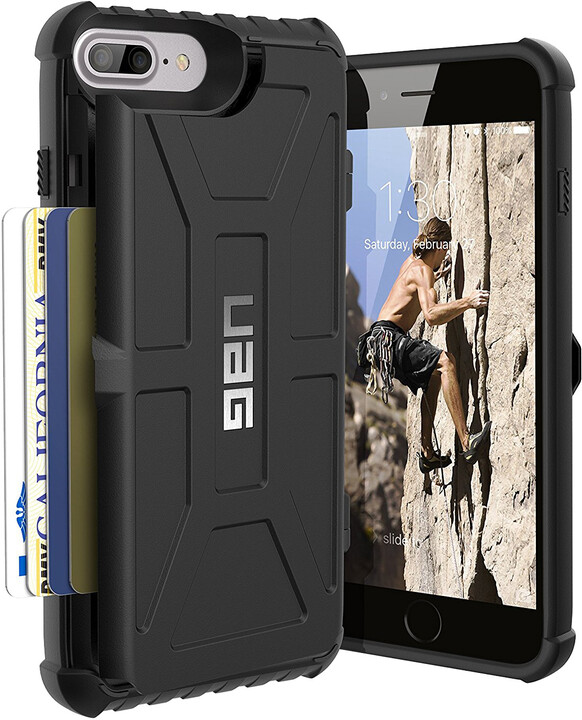 UAG trooper case Black, black - iPhone 8+/7+/6s+