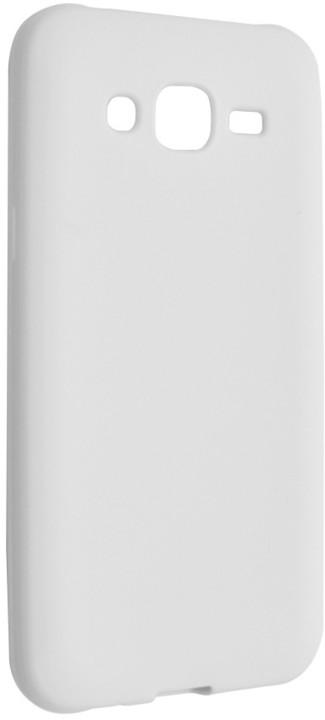 FIXED gelové pouzdro pro Samsung Galaxy J5, bílá