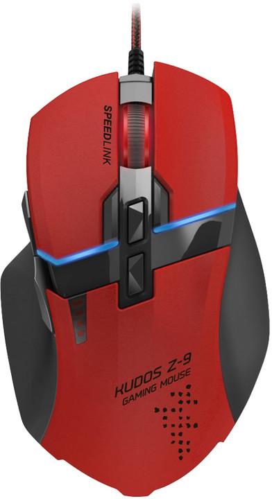 Speed Link Kudos Z-9, červená