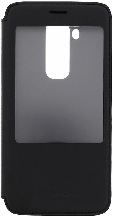 Huawei pouzdro S-View pro G8 (EU Blister), černá