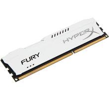 Kingston HyperX Fury White 4GB DDR3 1600 CL 10 - HX316C10FW/4