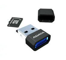 ADATA Micro SDHC 32GB Class 4 + USB čtečka, černá - AUSDH32GCL4-RM3BKBL