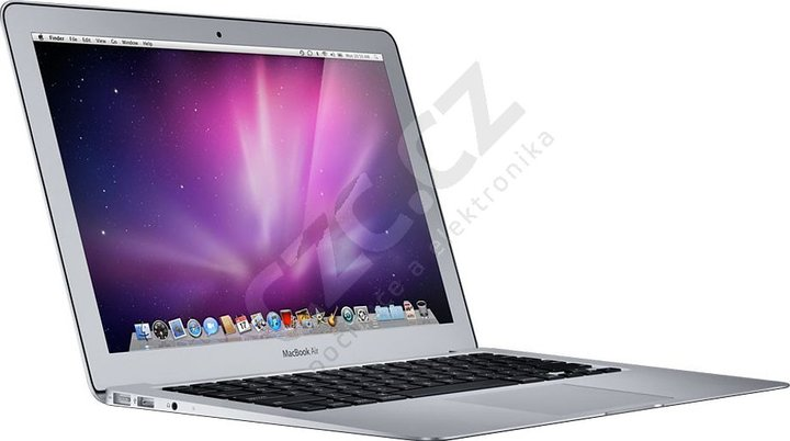 "Apple MacBook Air 11"" CZ, stříbrná"