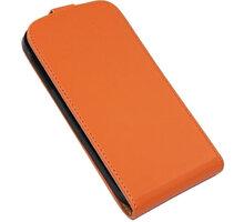 PATONA pouzdro pro Samsung Galaxy S4 (I9505), oranžová hladká - PT8055