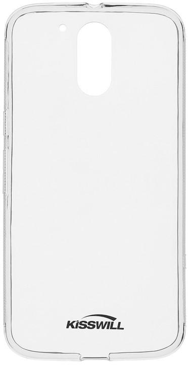 Kisswill TPU pouzdro pro Motorola G4 Plus, černá